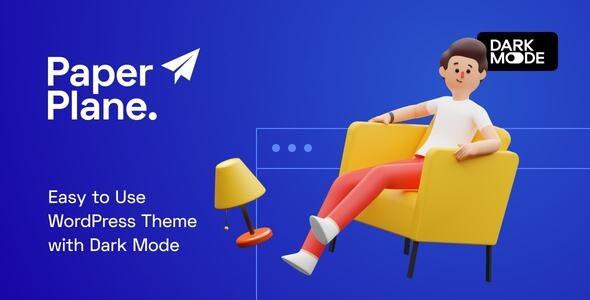 Paper Plane - Modern WordPress Blog Theme 1.0.9
