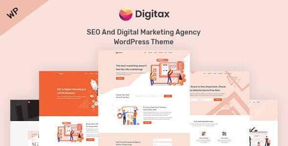 Digitax - SEO & Digital Marketing Agency WordPress Theme  1.0.1