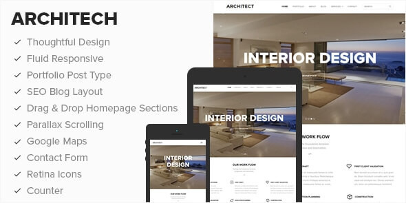 Architect - WordPress Theme  1.2.4