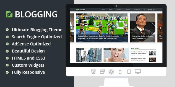 MyThemeShop Blogging  3.1.8