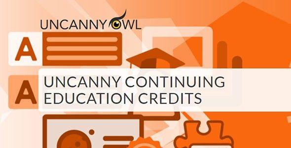 Uncanny Continuing Education Credits  3.0.4