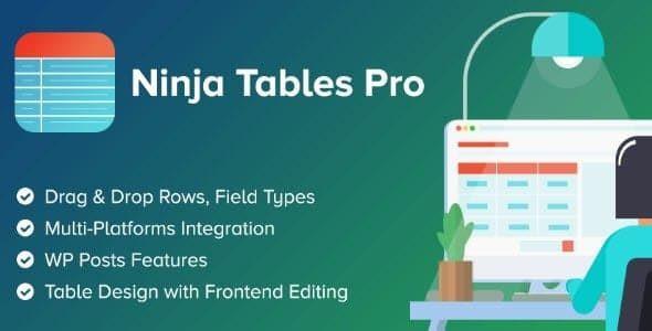 Ninja Tables Pro  + (free) 4.1.5