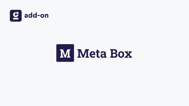 WP Grid Builder Meta Box Addon 1.0.0