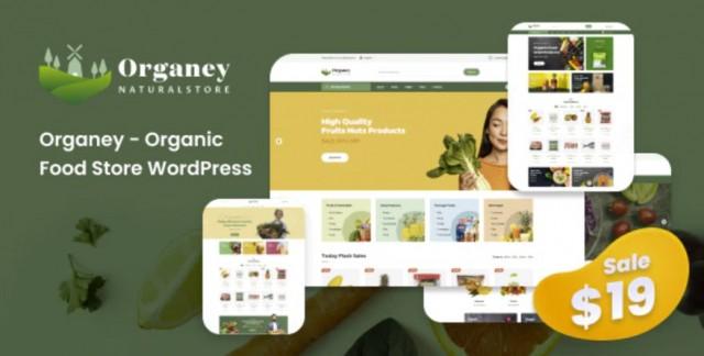 Organey - Organic Food WooCommerce WordPress Theme 1.5.1