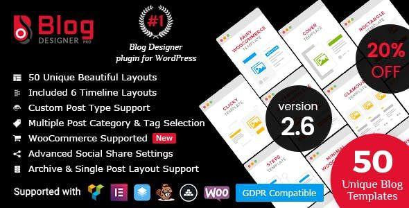 Blog Designer PRO  2.7.3