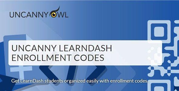 Uncanny Learndash Enrollment Codes  3.0.4