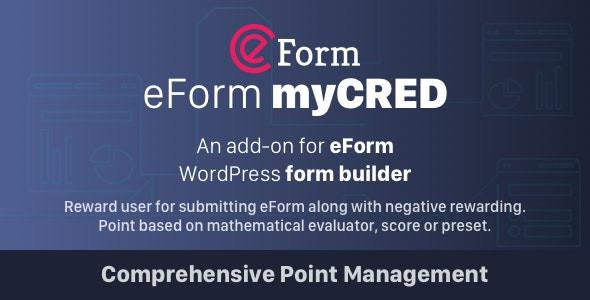 myCRED Integration for eForm  1.1.0