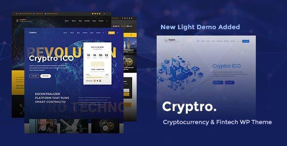 Cryptro - Cryptocurrency, Blockchain , Bitcoin & Financial Technology  1.3.2