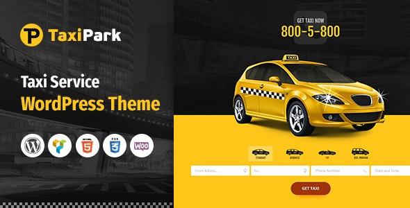TaxiPark - Taxi Cab Service Company WordPress Theme 1.5.9