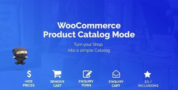 WooCommerce Product Catalog Mode  1.8.1