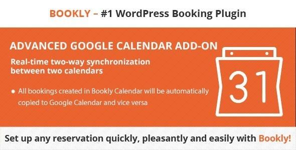 Bookly Advanced Google Calendar Addon