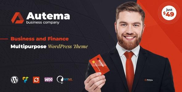 Autema - Quick Loans, Bitcoin, Business Coach and Insurance Agency WordPress Theme 1.2.1