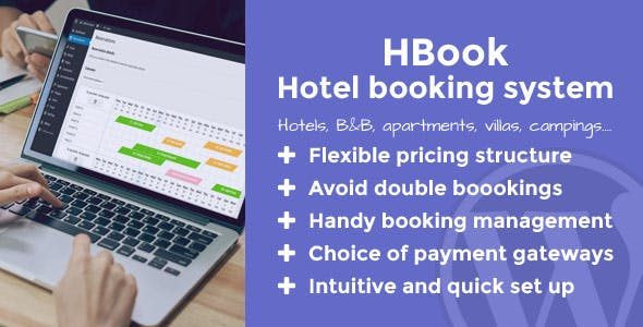 HBook - Hotel booking system - WordPress Plugin  1.9.4