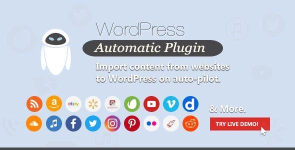WordPress Automatic Plugin  3.53.34
