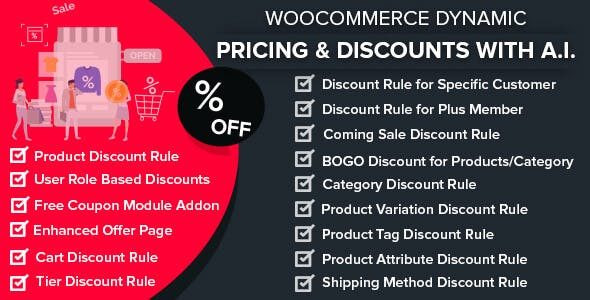 WooCommerce Dynamic Pricing & Discounts with AI  1.6.1