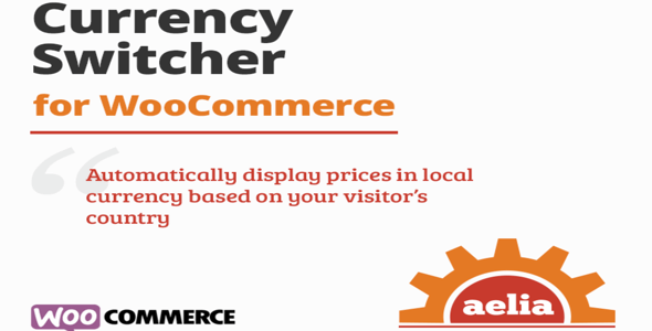 Aelia Currency Switcher for WooCommerce  4.12.0.210629