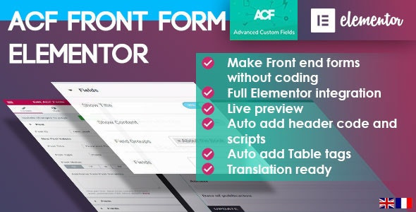 ACF Frontend Pro for Elementor 3.0.37