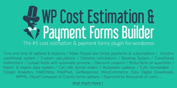 WP Cost Estimation & Payment Forms Builder  9.743