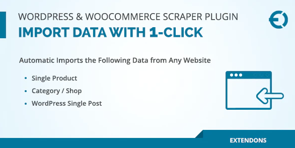 WordPress & WooCommerce Scraper Plugin, Import Data from Any Site