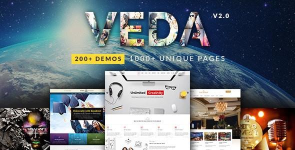 VEDA | Multi-Purpose Theme  2.7