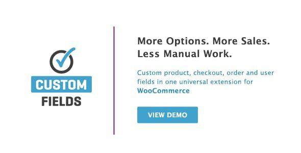 WooCommerce Custom Fields  2.3.4