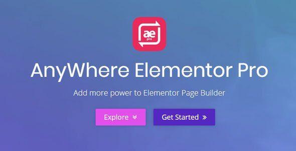 AnyWhere Elementor Pro   2.20.4