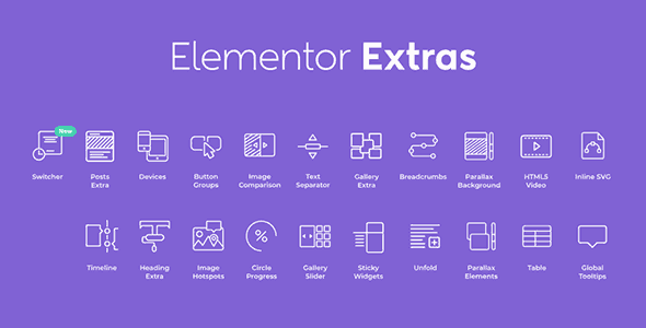 Extras for Elementor  2.2.42