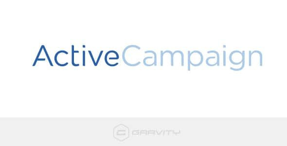 Gravity Forms Active Campaign  1.9