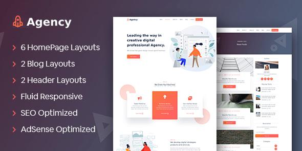 MyThemeShop Agency WordPress Theme  1.0.6