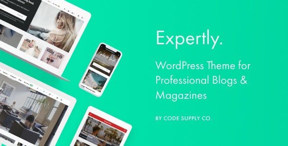 Expertly - WordPress Blog & Magazine Theme for Professionals 1.7.7