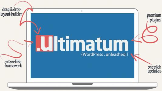 Ultimatum - Theme Framework + Child Themes  2.9.1.2