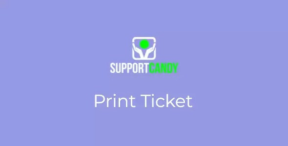 SupportCandy - Print Ticket 1.0.5