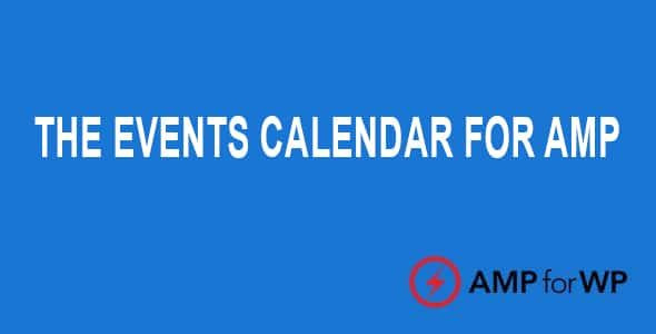 The Events Calendar for AMP  1.4.14