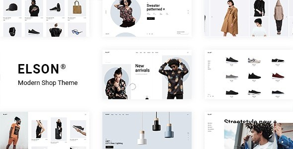 Elson - Modern Shop Theme