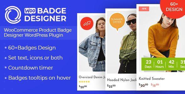 Woo Badge Designer  3.0.8