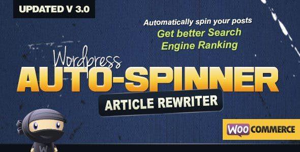 WordPress Auto Spinner  3.8.1