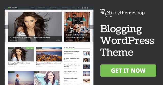 MyThemeShop Blogging WordPress Theme 3.1.2