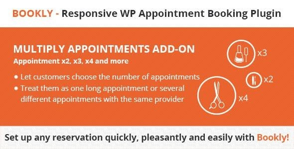 Bookly Multiply Appointments  2.2