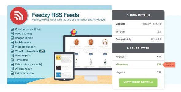 Feedzy RSS Feeds Premium  1.7.2