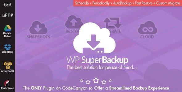 Super Backup & Clone - Migrate for WordPress  2.2