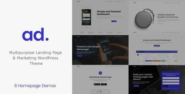 Advent - Digital Marketing WordPress Theme 1.3.6