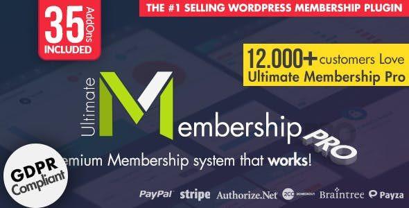 Ultimate Membership Pro  10.0