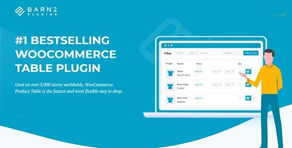 WooCommerce Product Table  2.8.5