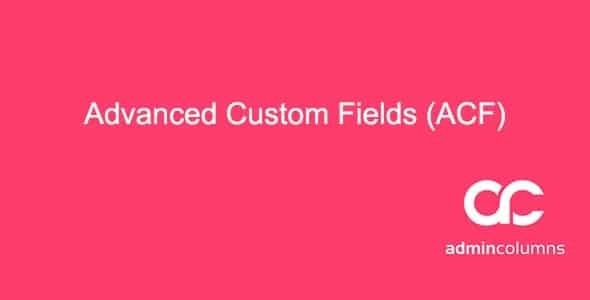 Admin Columns Pro - Advanced Custom Fields Addon   2.6.4