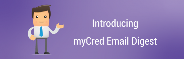 myCred Email Digest 1.0