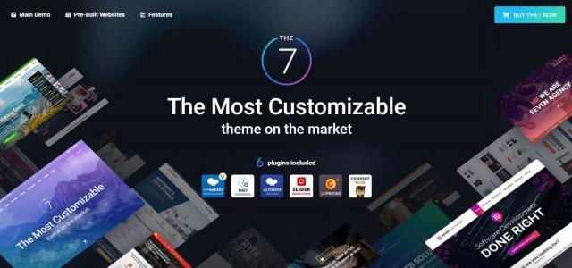 The7 — Multi-Purpose Website Building Toolkit for WordPress 9.9.2.1