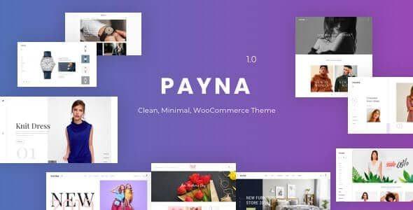Payna - Clean, Minimal WooCommerce Theme  1.0.4