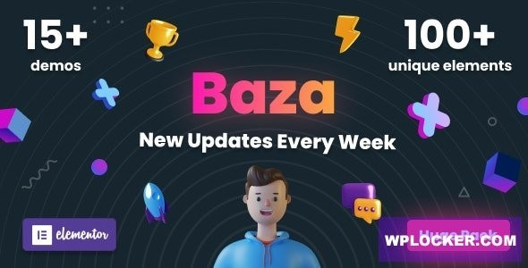 Baza - Creative MultiPurpose WordPress Theme 1.17