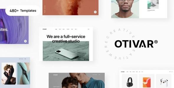 Otivar - Portfolio Theme for Creatives 1.0.0