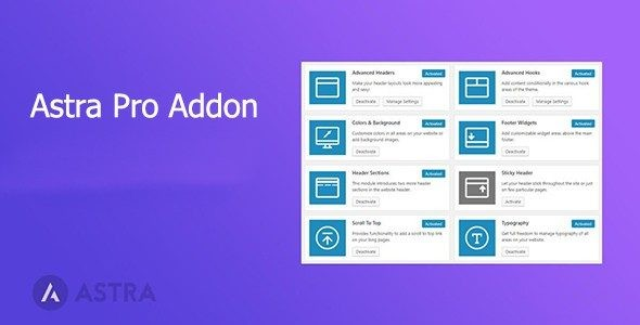 Astra Pro Addon  3.4.2